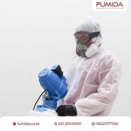 Gambar Solusi terbaik penanganan cepat virus dan bakteri dengan cairan desinfektan