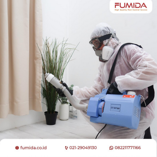 Gambar 4 - Solusi dan alternatif terbaik penyemprotan cairan disinfektan